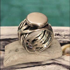 Silpada Sterling Silver .925 Mermaid Ring